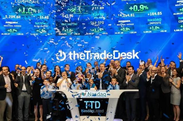 When was ttd ipo