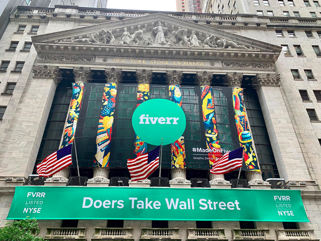 fvrr stock news and price    fiverr international ltd