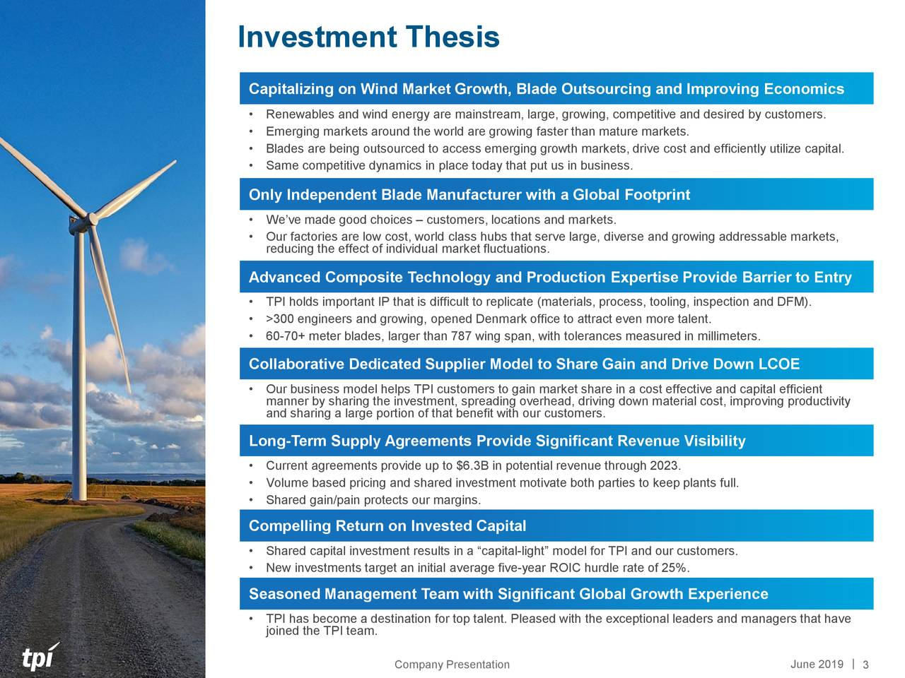 TPI Composites: Oversold Alternative Energy Play - TPI