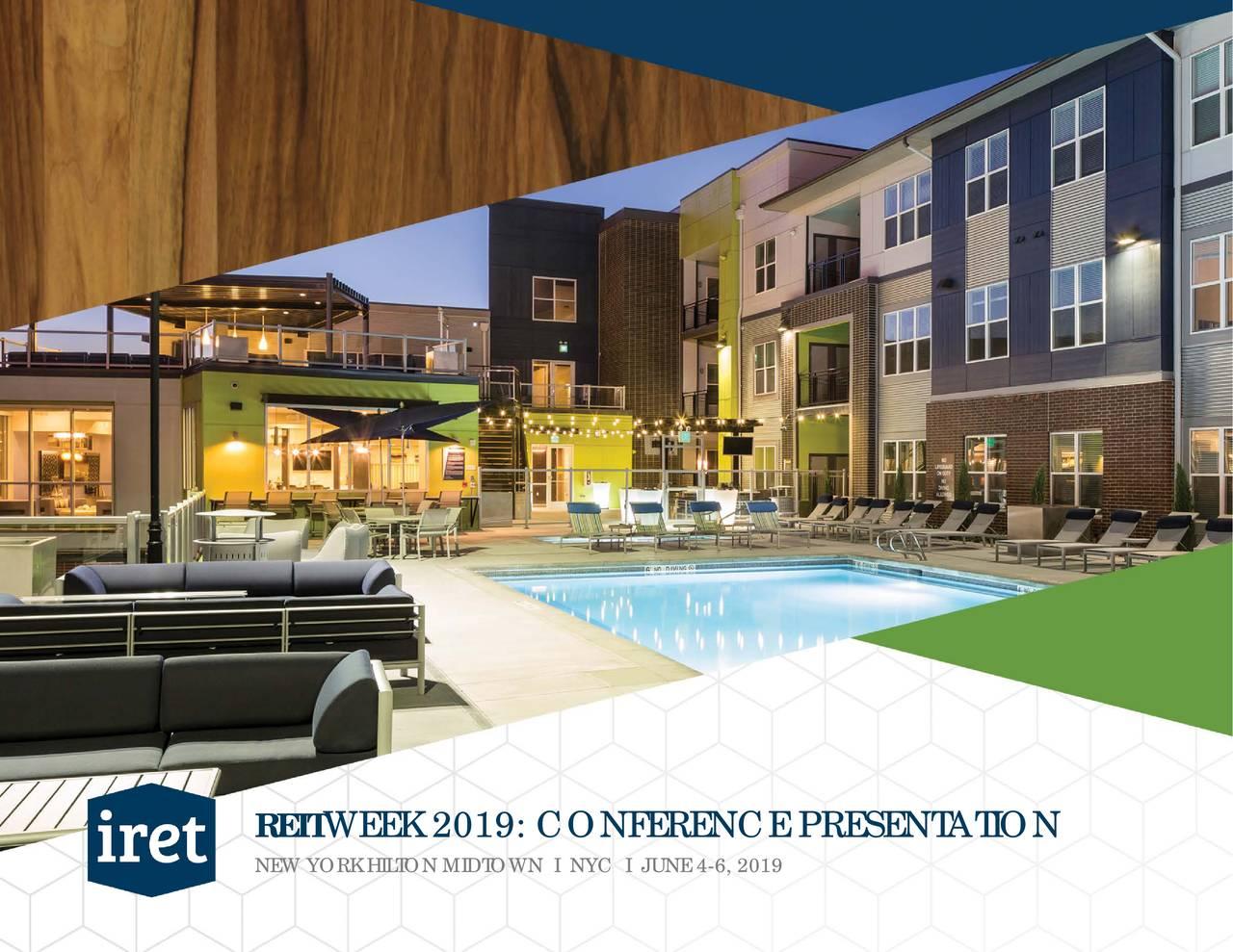 Investors Real Estate Trust (IRET) Presents At NAREIT 2019 Investor Conference - Slideshow