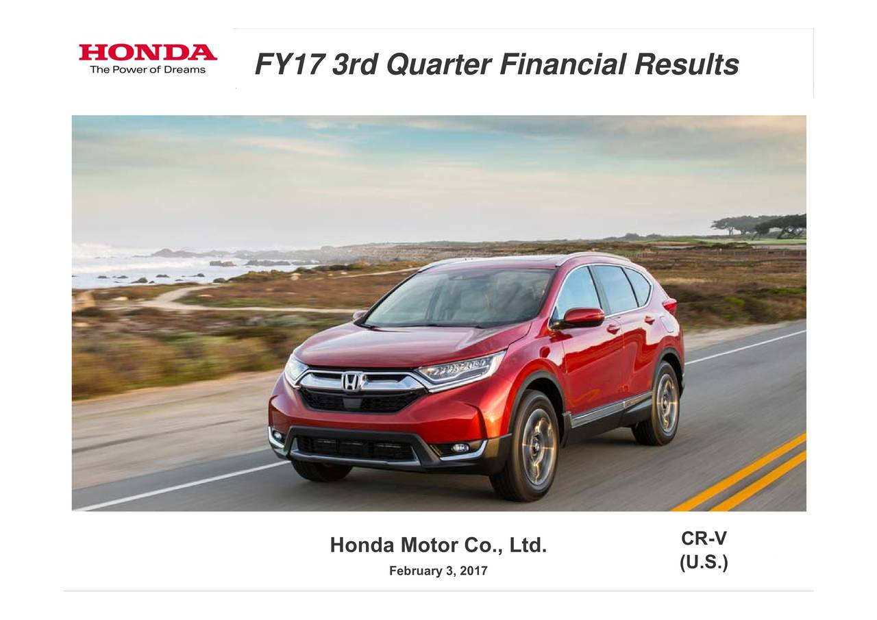 honda motor co ltd financial Honda motor (hmc) seems to be a good value pick, as it has decent revenue metrics to back up its earnings, and is seeing solid earnings estimate revisions as we.