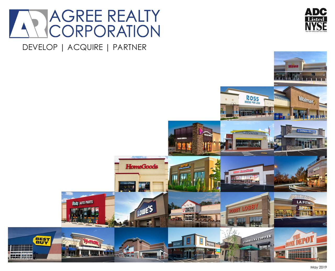 Agree Realty (ADC) Investor Presentation - Slideshow