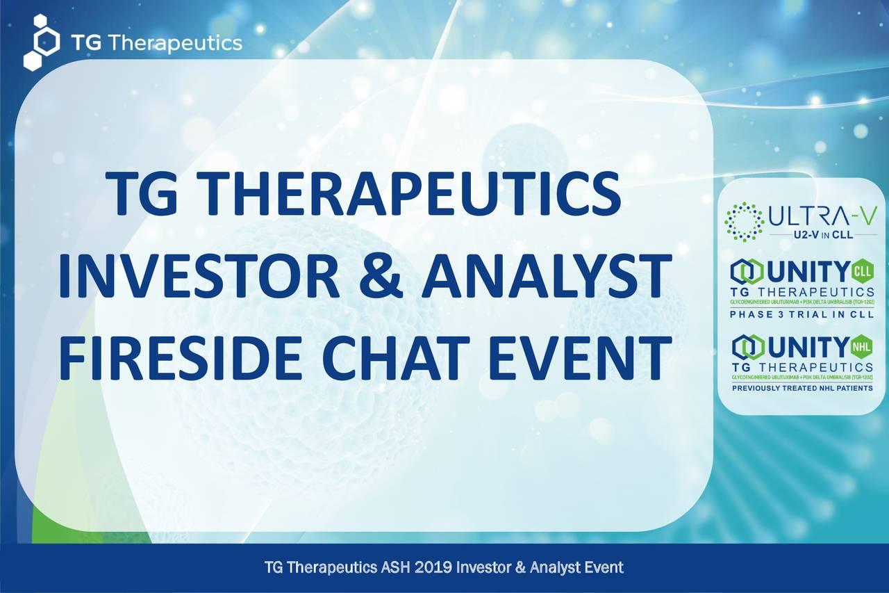 TG Therapeutics (TGTX) Investor Presentation - Slideshow - TG Therapeutics, Inc. (NASDAQ:TGTX) | Seeking Alpha
