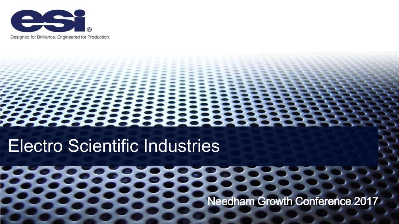 Needham Growth Conference 2017