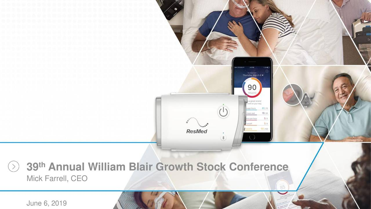 ResMed (RMD) Presents At William Blair Growth Stock Conference - Slideshow