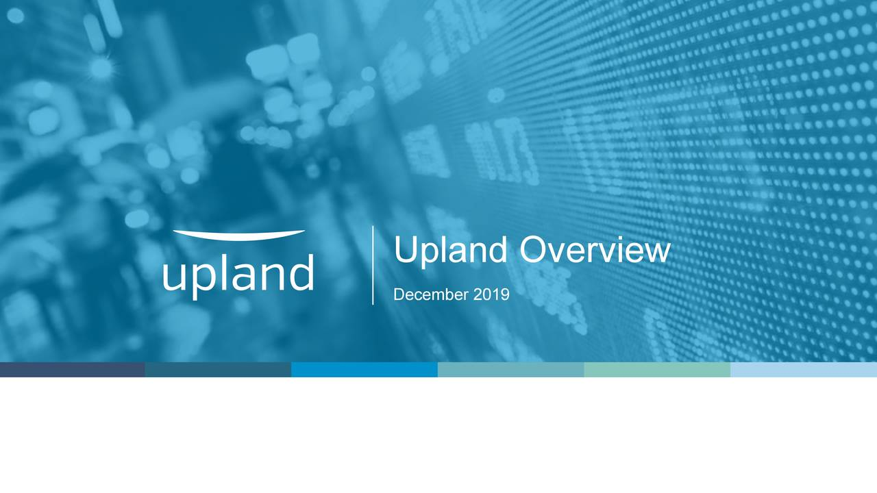 Upland Software (UPLD) Presents At The Credit Suisse 23rd Annual Technology Conference - Slideshow