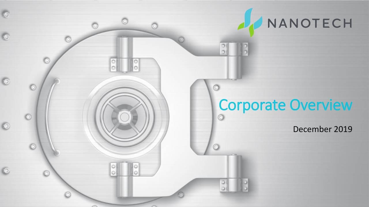 Nanotech Security (NTSFF) Investor Presentation - Slideshow - Nanotech Security Corp. (OTCMKTS:NTSFF) | Seeking Alpha