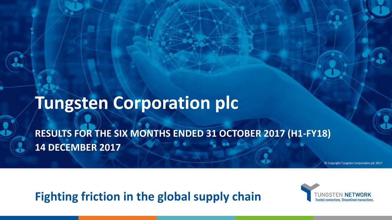 Tungsten Corporation plc