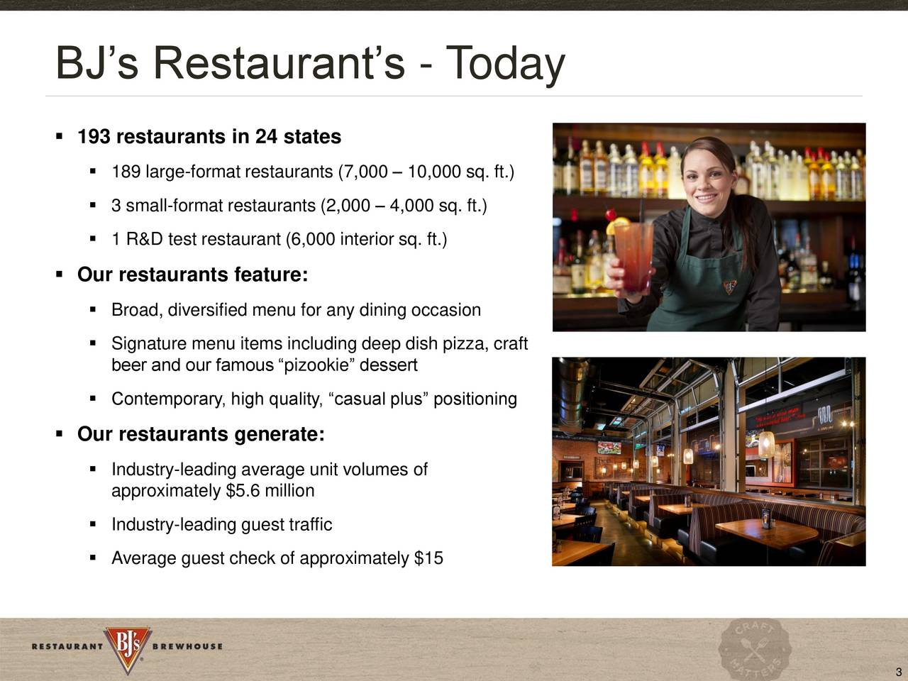 Bj S Restaurants Bjri Presents At 17th Annual