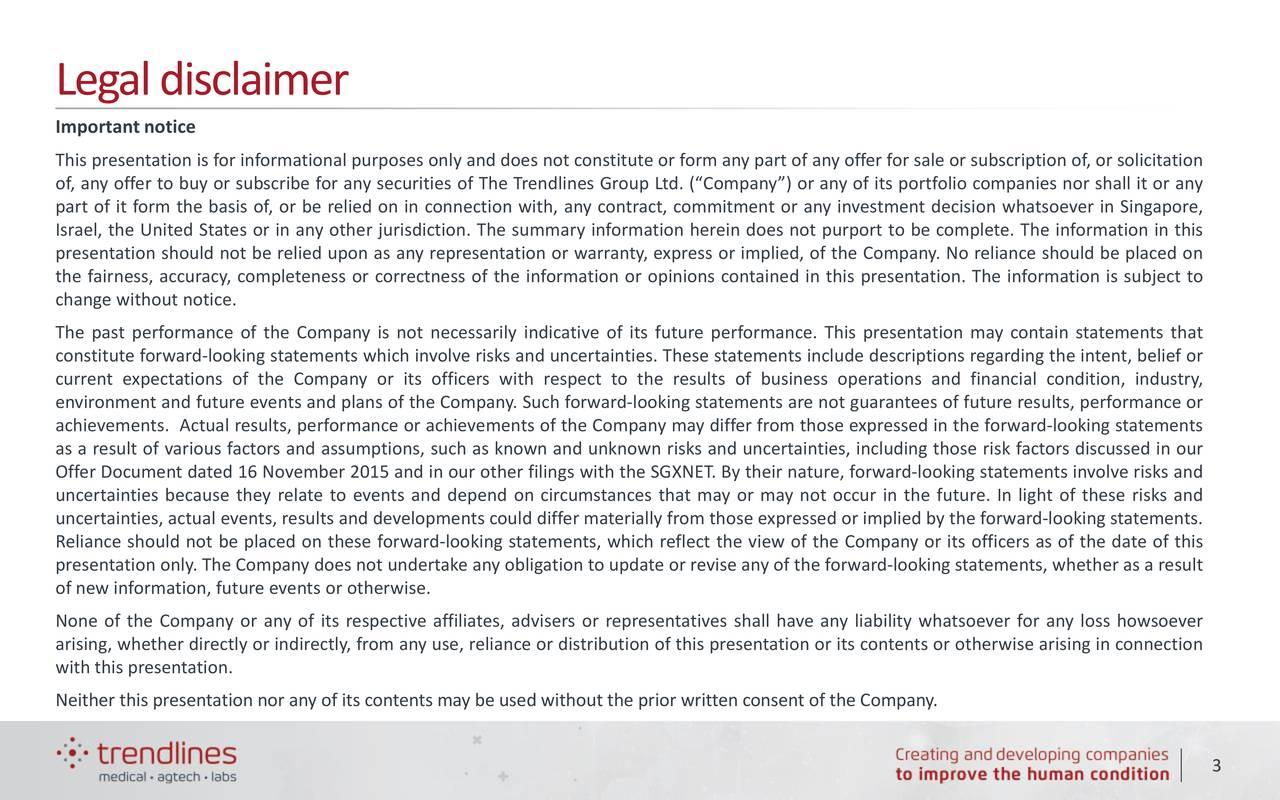 Legaldisclaimer