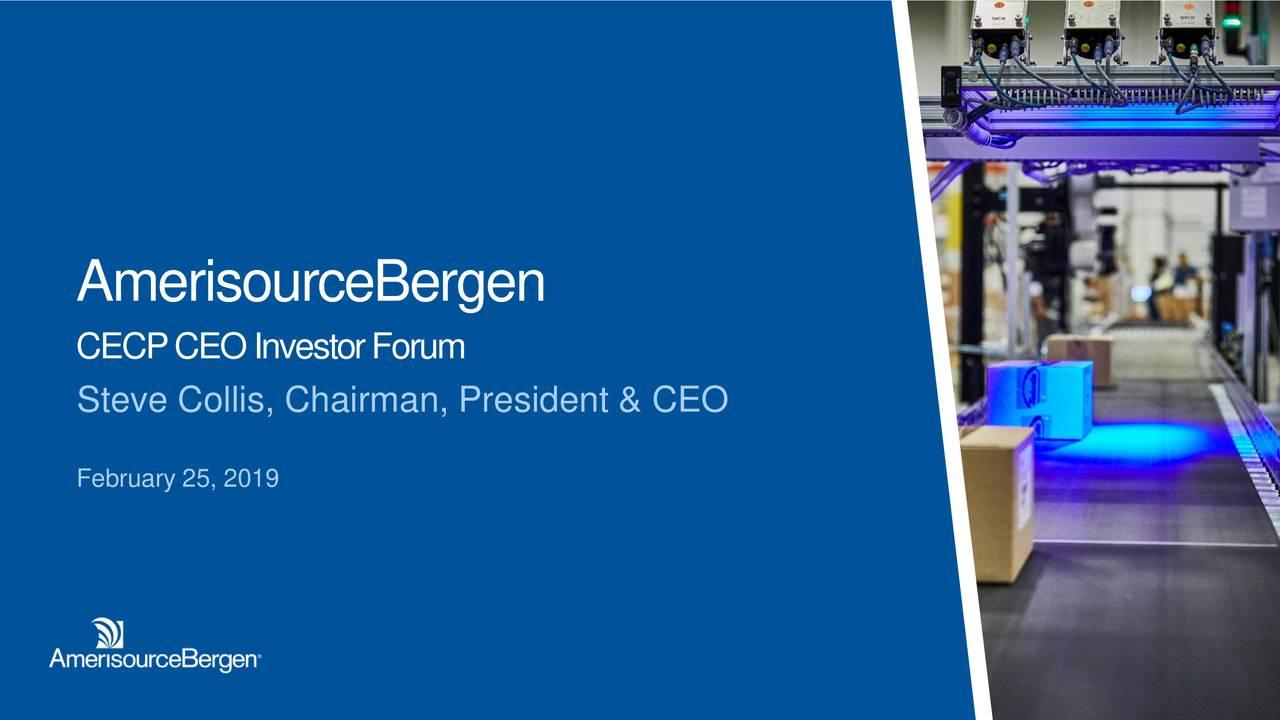 AmerisourceBergen (ABC) Presents At CECP 2019 CEO Investor