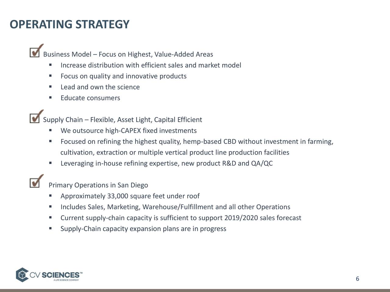 cv sciences  cvsi  investor presentation - slideshow