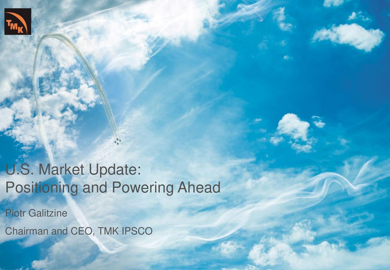 PAO (TMKXY) Investor Presentation - Slideshow - PAO TMK