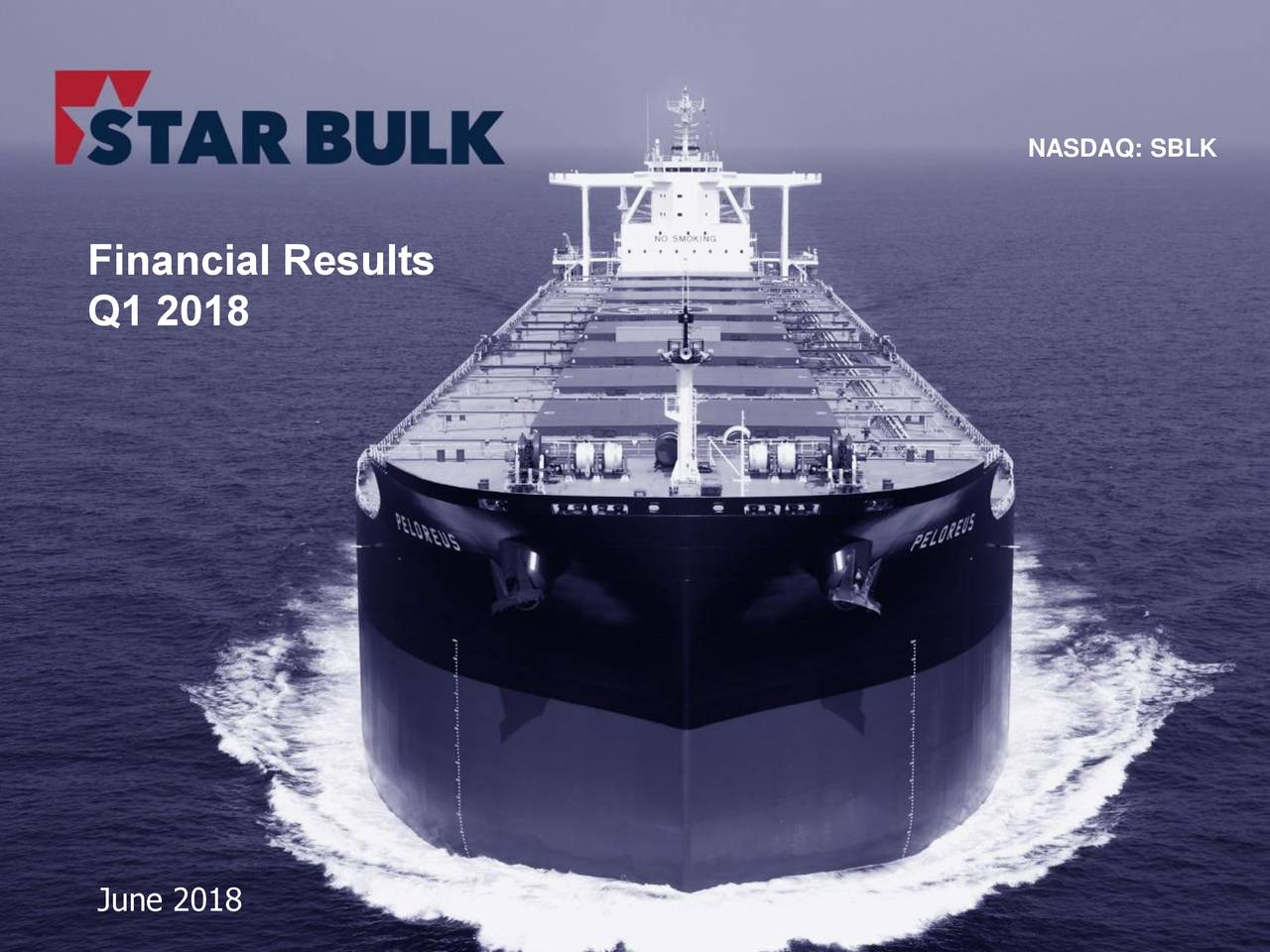 Financial Results Q1 2018 June 2018