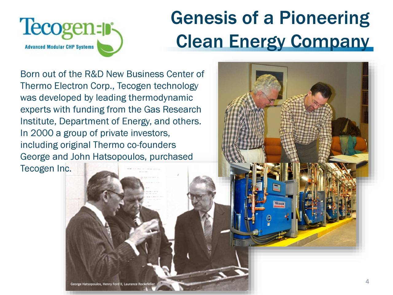 Tecogen Tgen Presents At Rodman Amp Renshaw 19th Annual