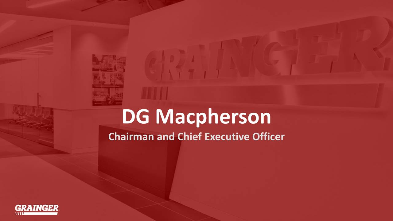 Chairman and Chief Executive Officer