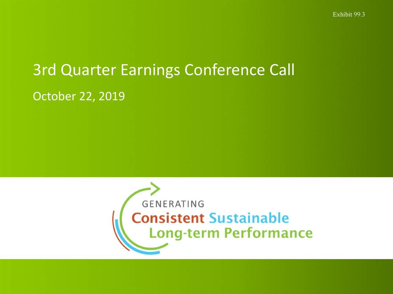 Regions Financial Corporation 2019 Q3 - Results - Earnings Call Presentation