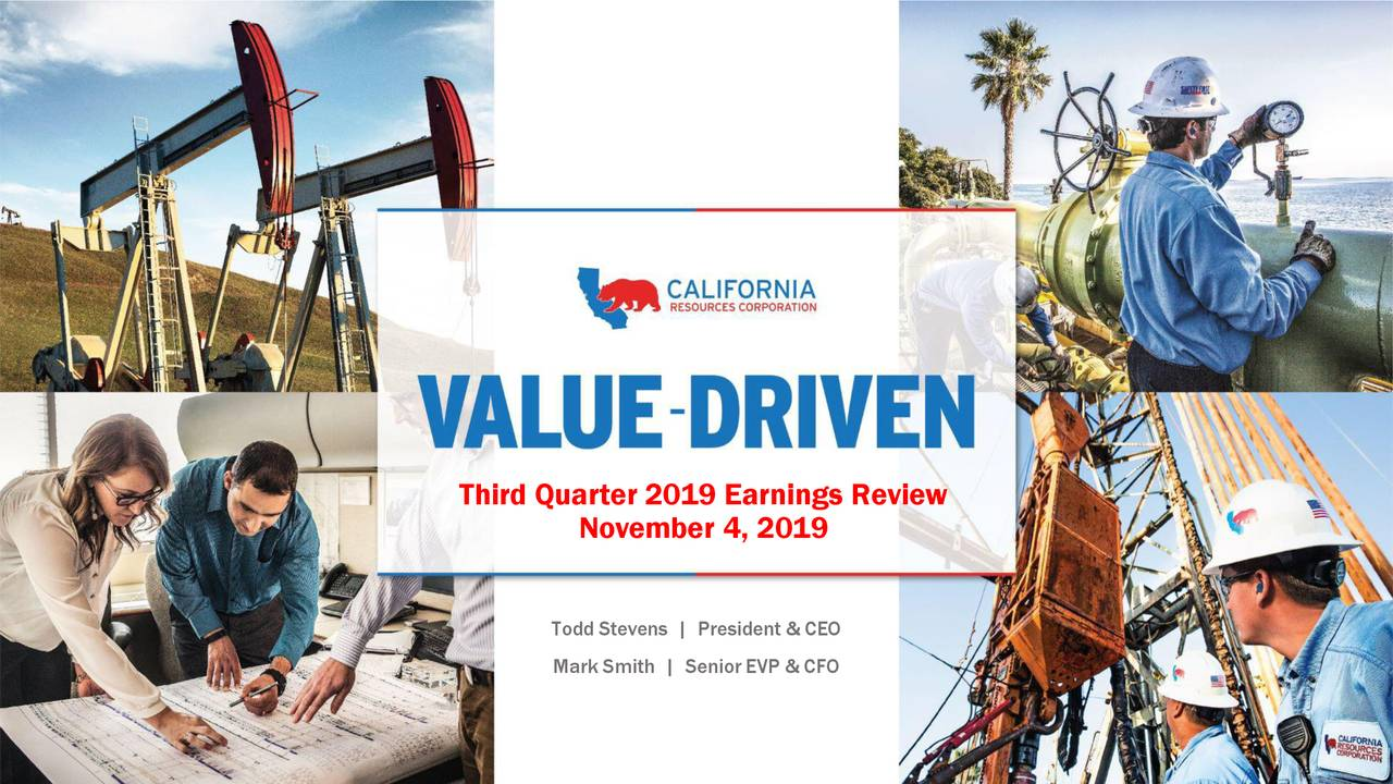 Third Quarter 2019 Earnings Review