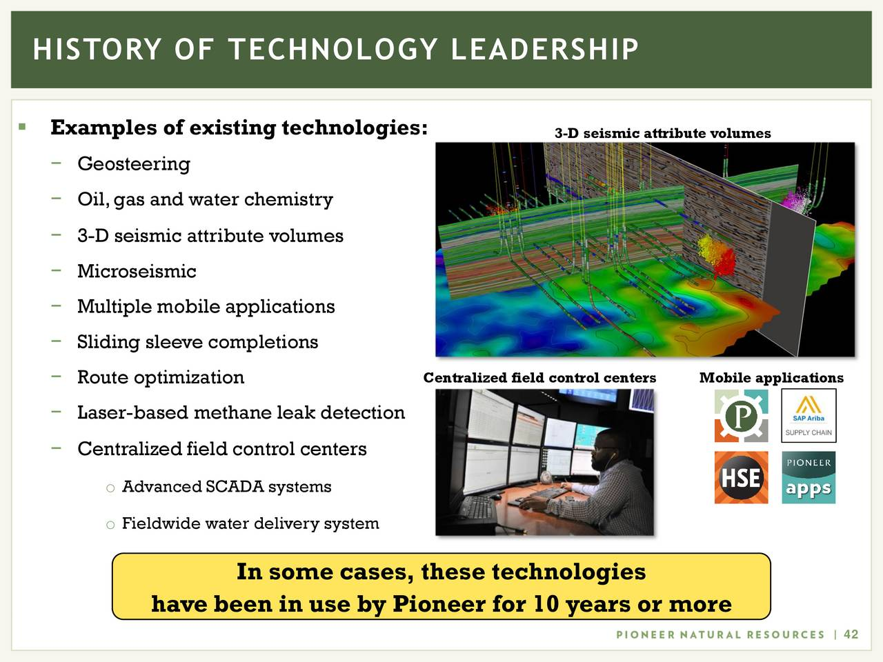 Result image for Pioneer Natural Resources 3d Seismics