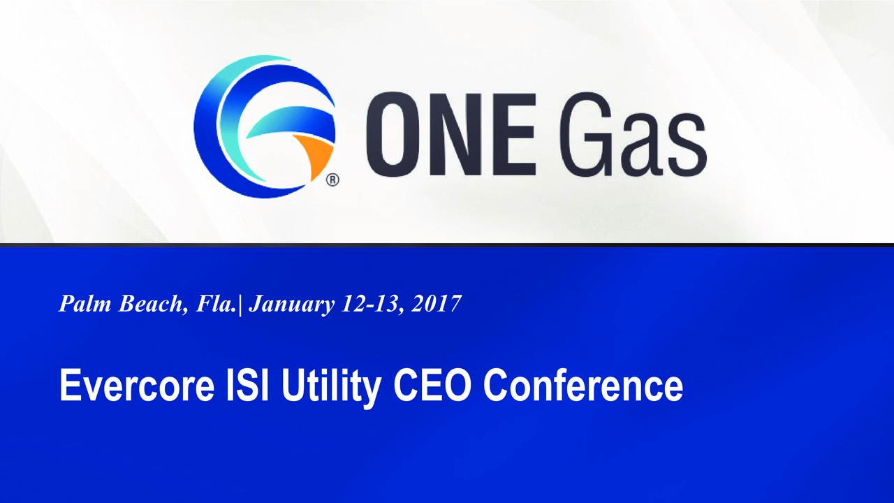Evercore ISI Utility CEO Conference