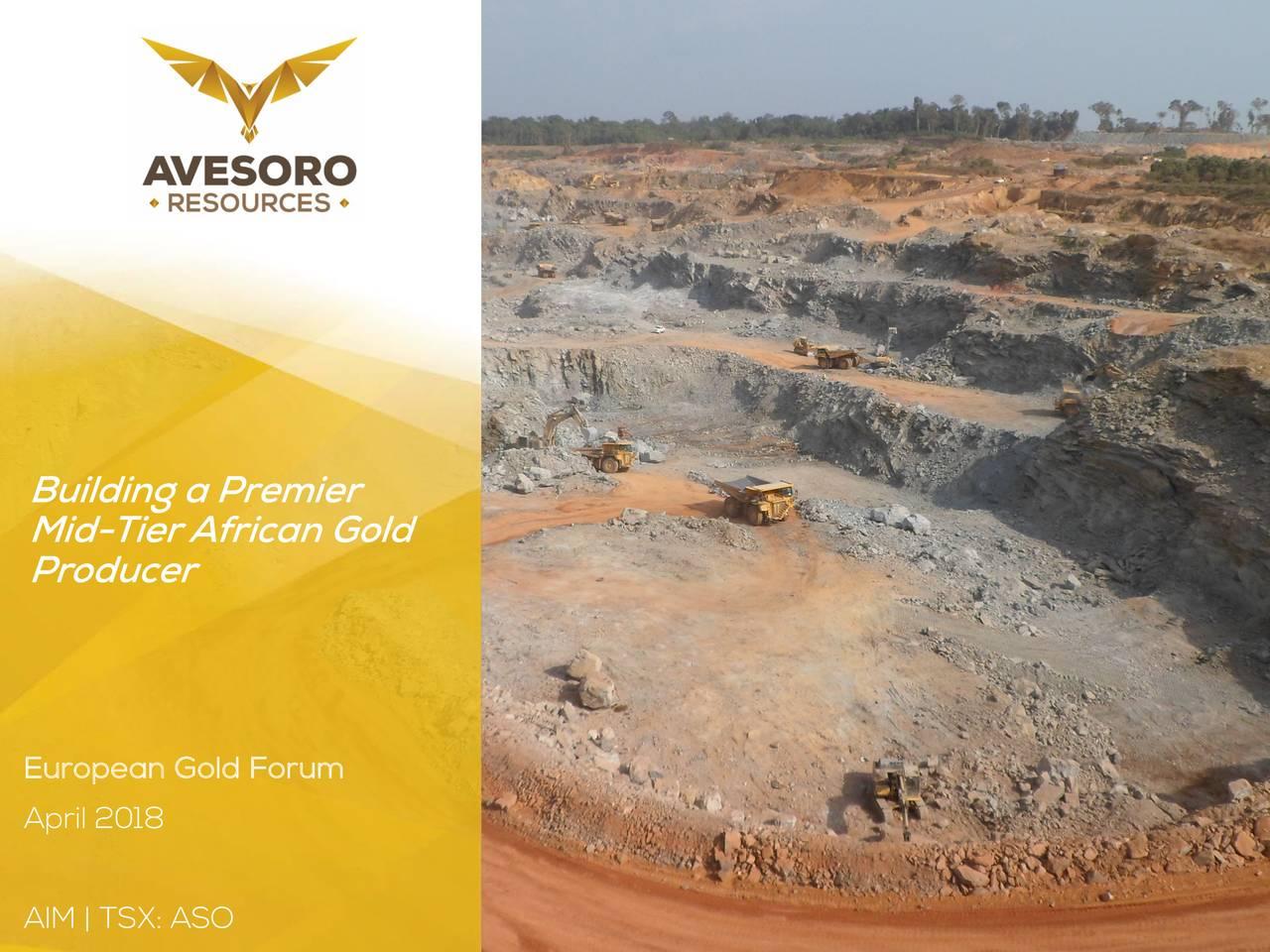 Avesoro Resources (ARSMF) Presents At European Gold Forum