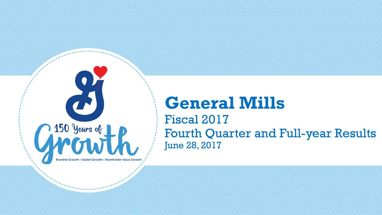 general mills financial analysis General mills inc (gis) stock analysis, 10 years financial analysis, interactive  charts, stock valuations, value investing.