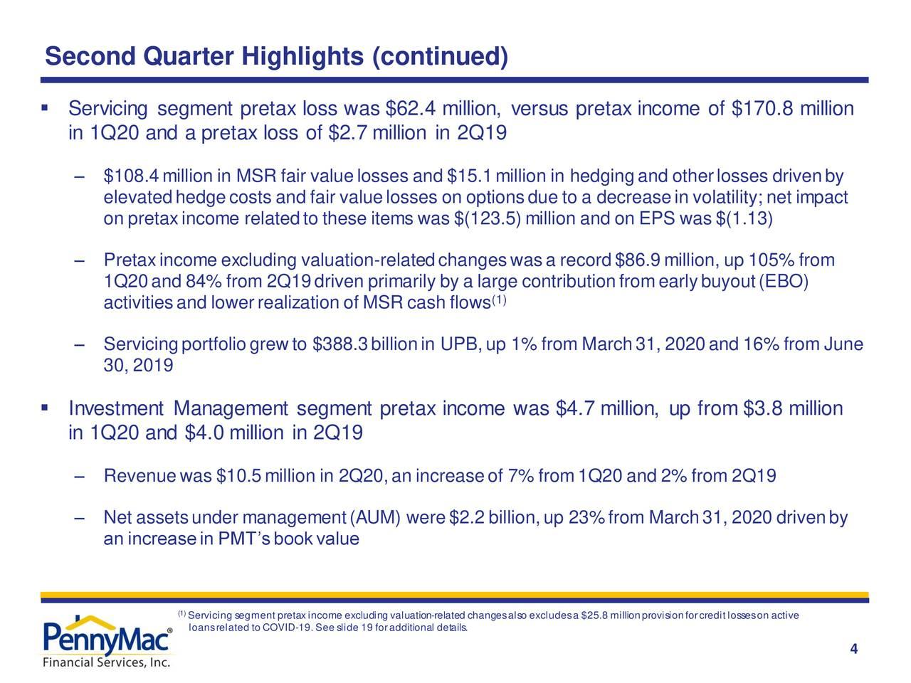 Aspectos destacados del segundo trimestre (continuación)