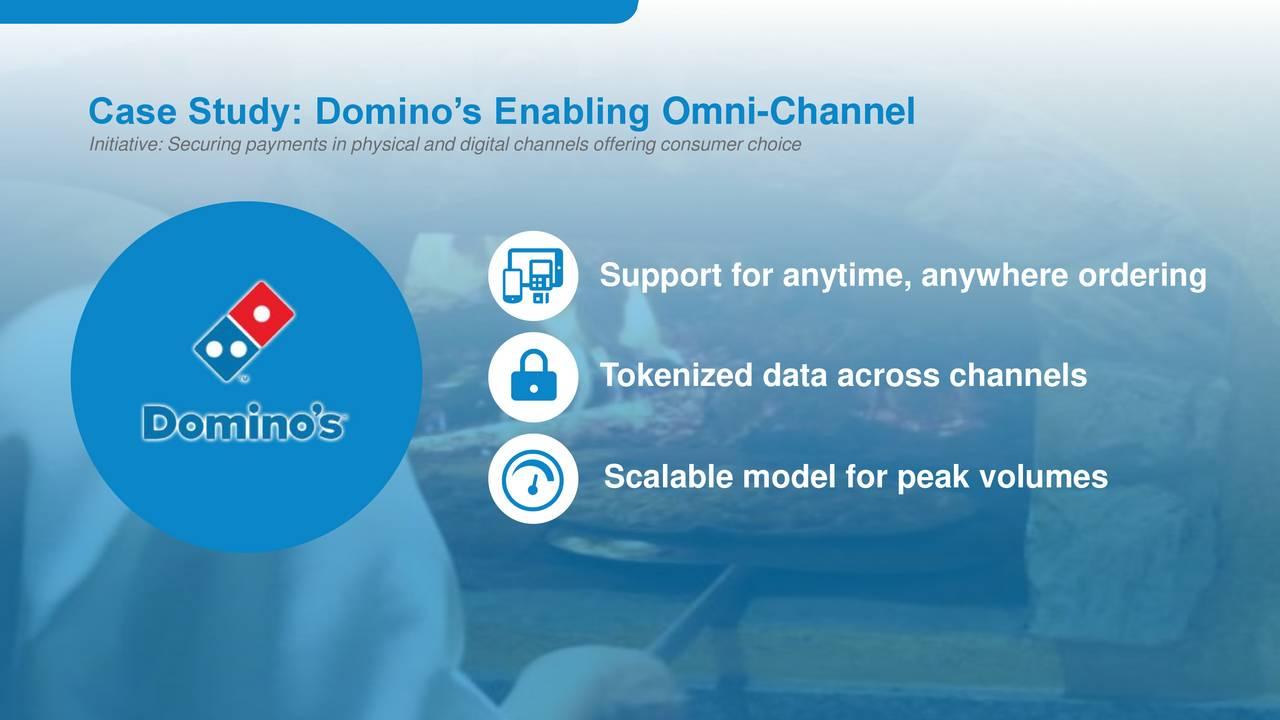 case study on dominos