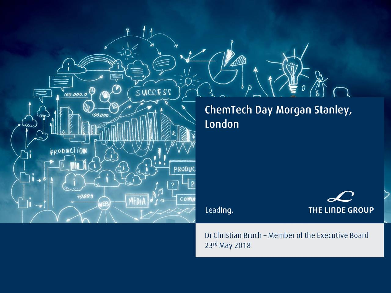 Linde (LNEGY) Presents At Morgan Stanley ChemTech Day - Slideshow