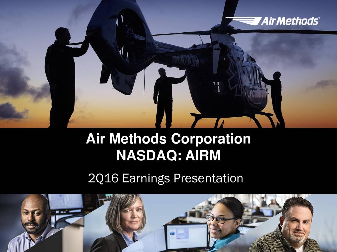 NASDAQ: AIRM 2Q16 Earnings Presentation