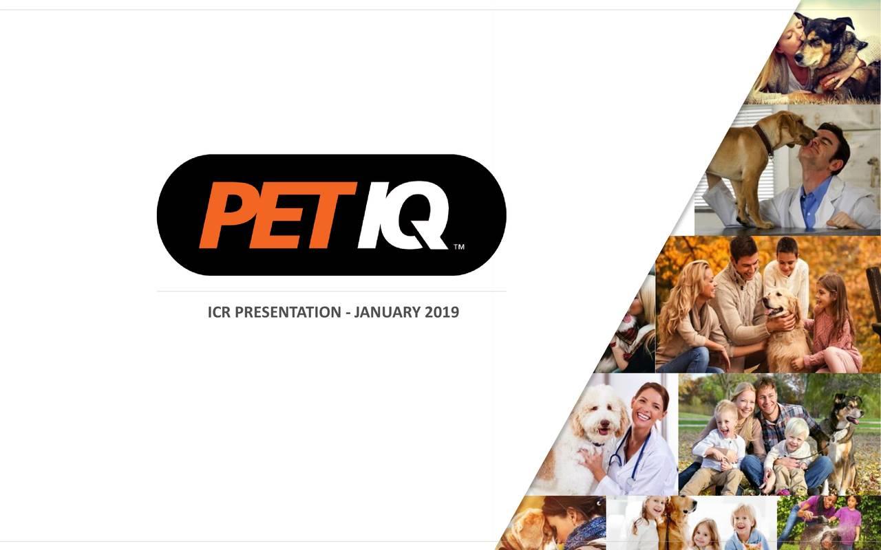 Petiq Petq Presents At 2019 Icr Conference Slideshow Nasdaq Petq Seeking Alpha