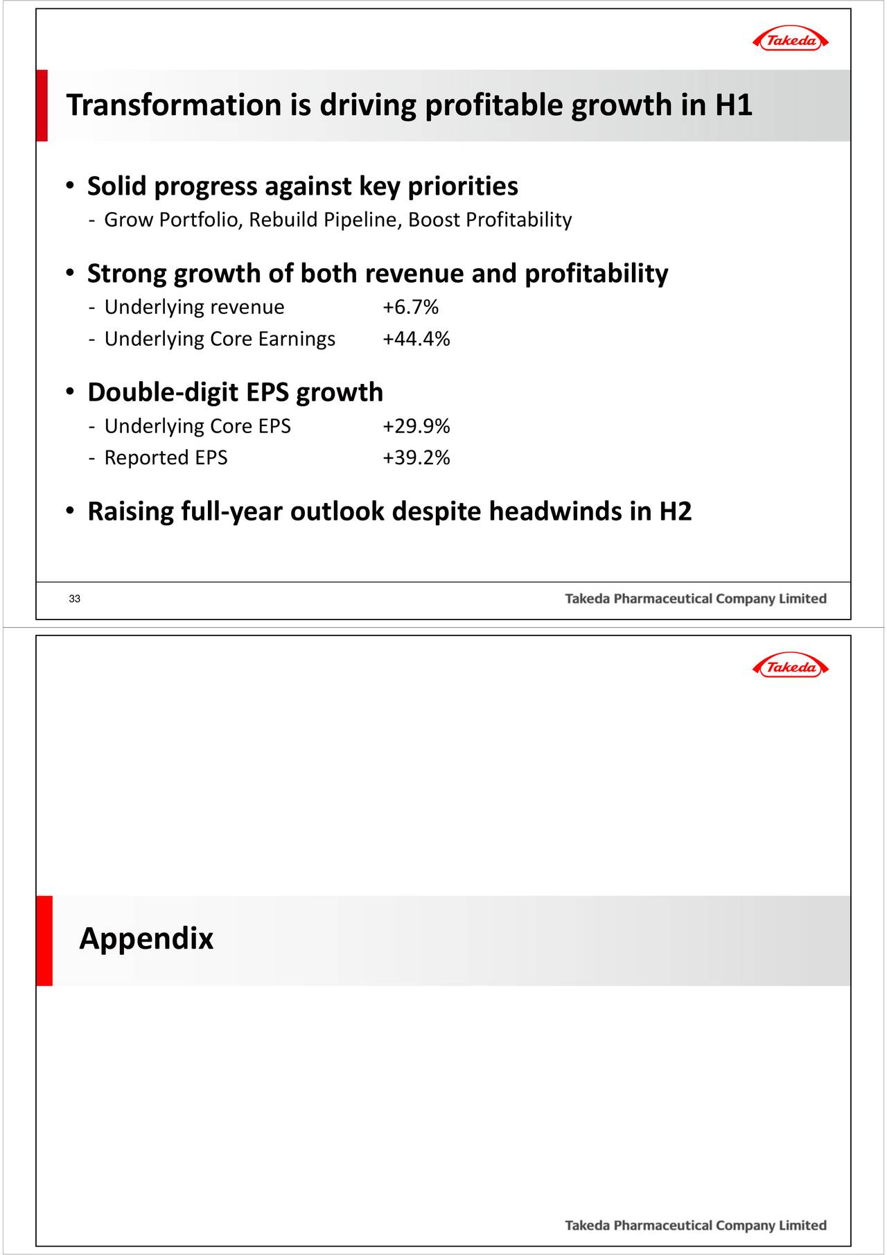 analysis of takeda pharmaceutical company limited Takeda pharmaceutical company profile - swot analysis: takeda  pharmaceutical co ltd, a japan-based producer of prescription and consumer  health.