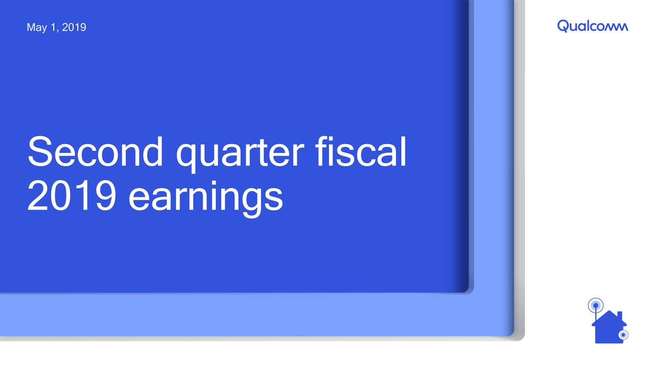 Second quarter fiscal 2019 earnings