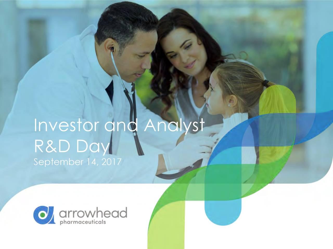 Investor and Analyst