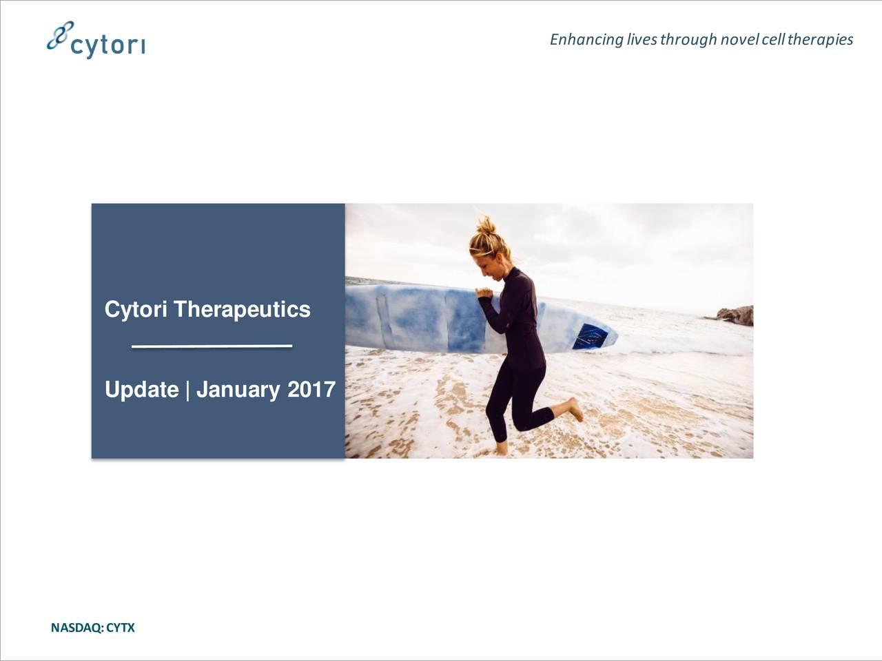 Cytori Therapeutics Update | January 2017 NASDAQ:CYTX