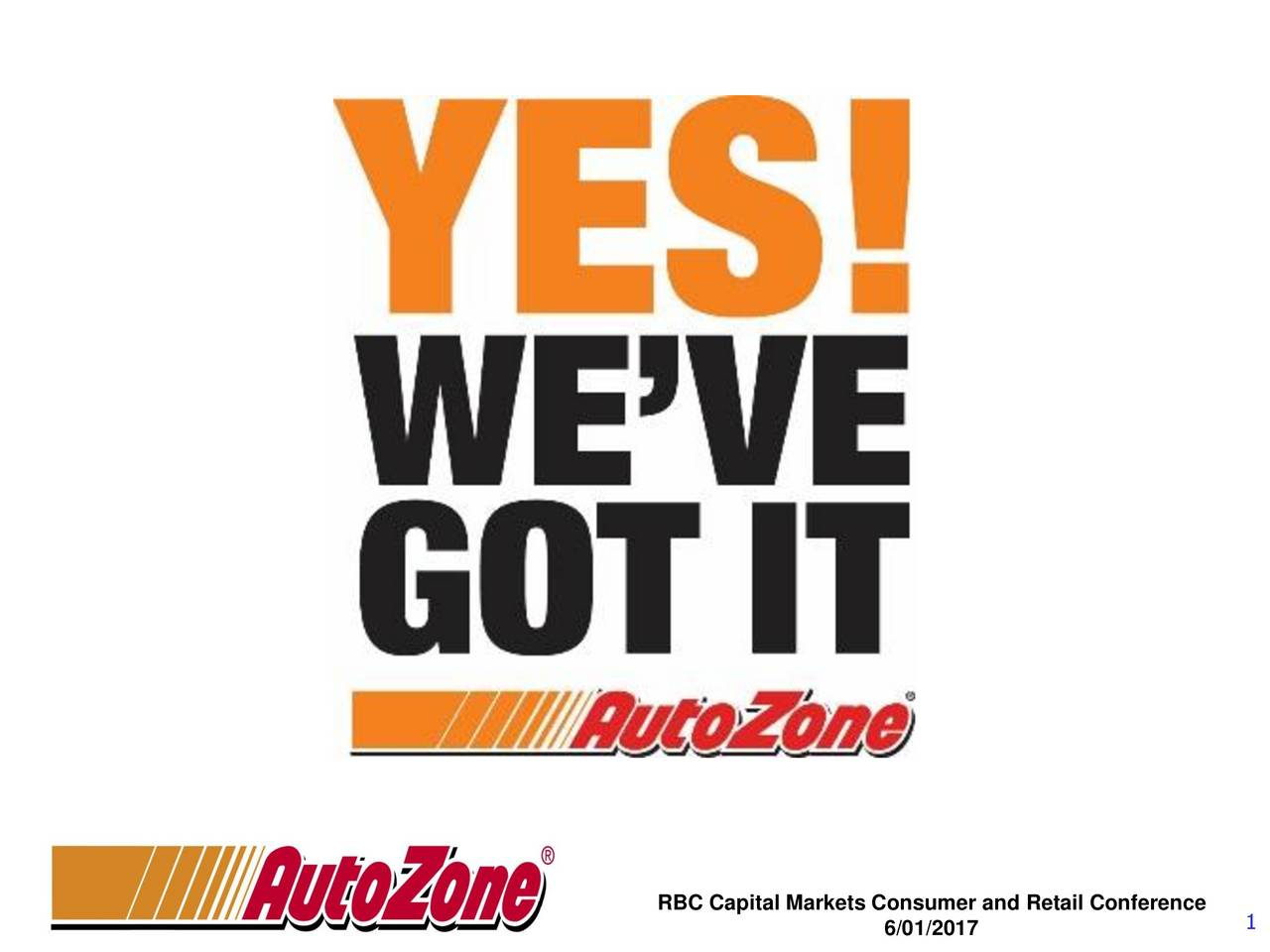 Rbc Capital Markets >> Autozone Azo Presents At Rbc Capital Markets Consumer And Retail