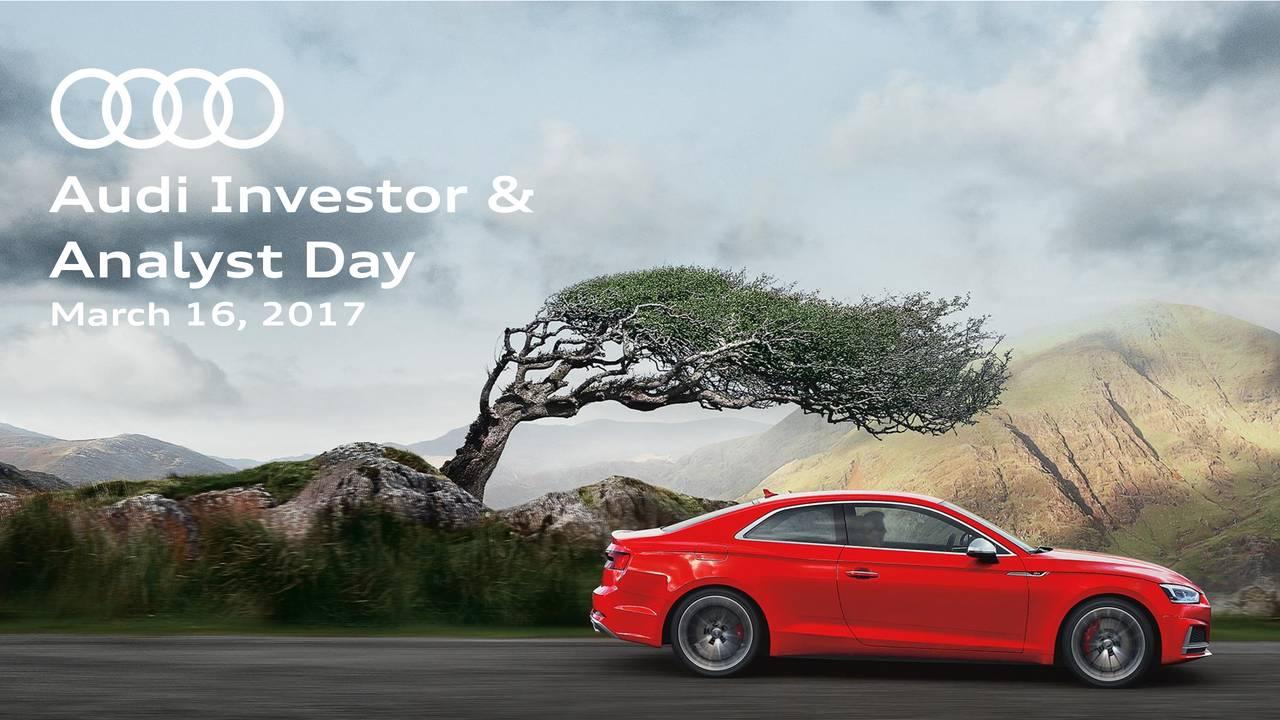 Audi Ag Audvf Investor Presentation Slideshow Audi