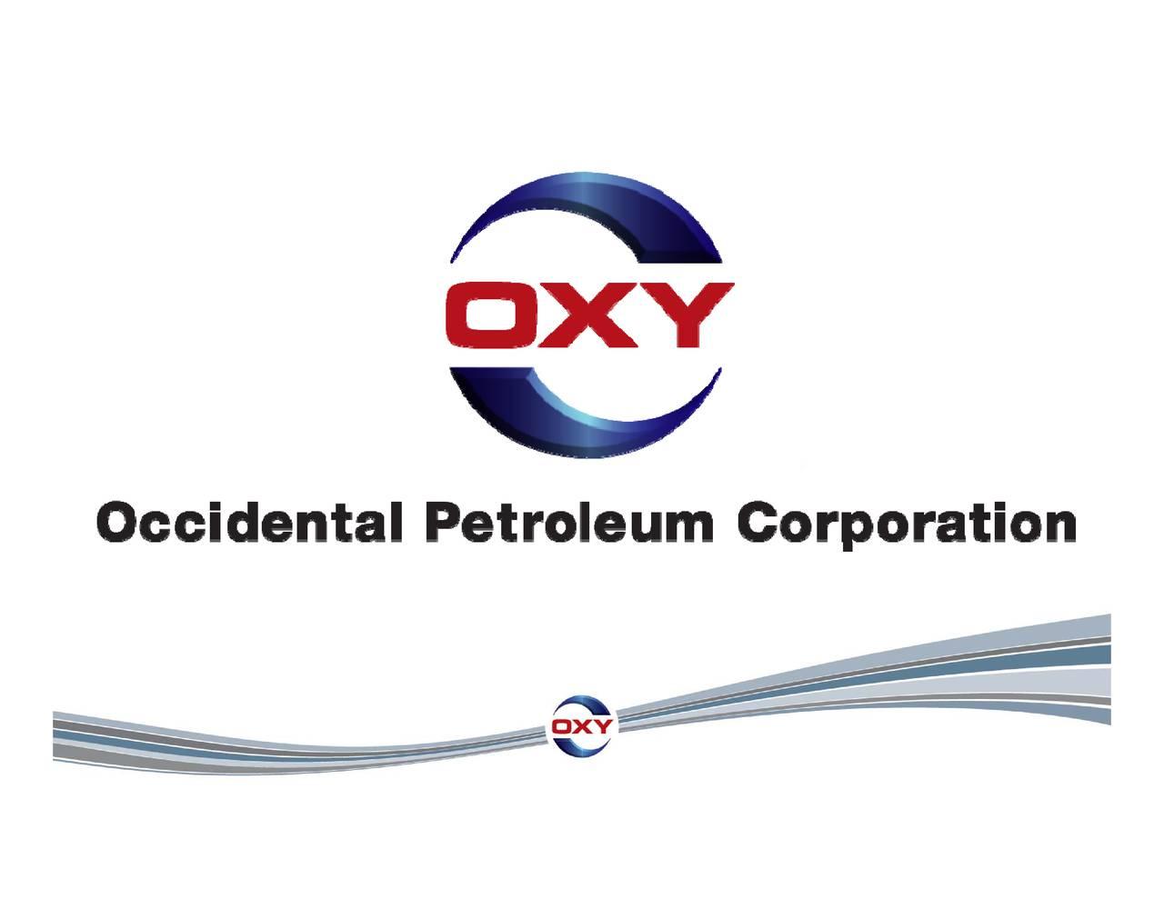 Occidental petroleum forex от простого к сложному морозов и фатхуллин купить