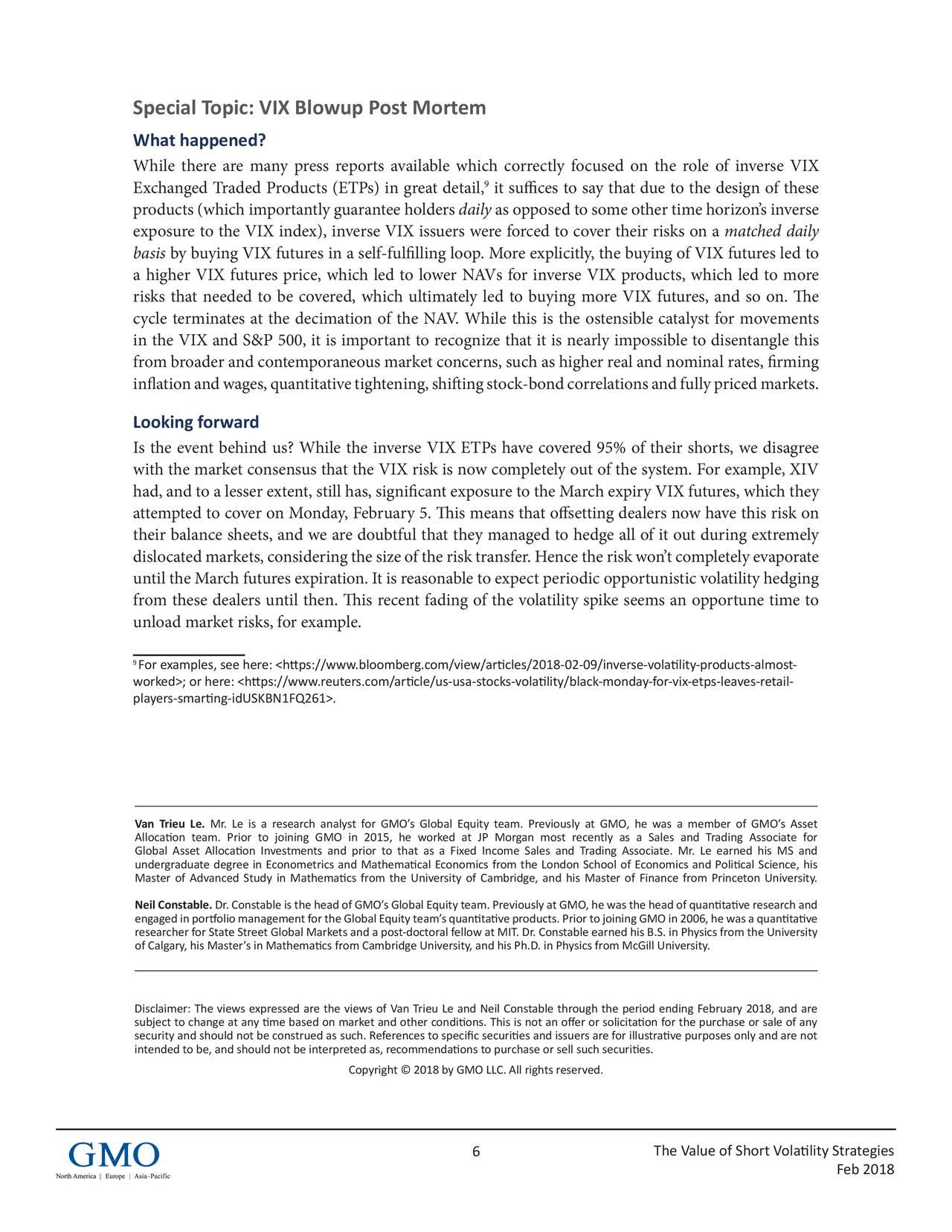 The Value Of Short Volatility Strategies Seeking Alpha
