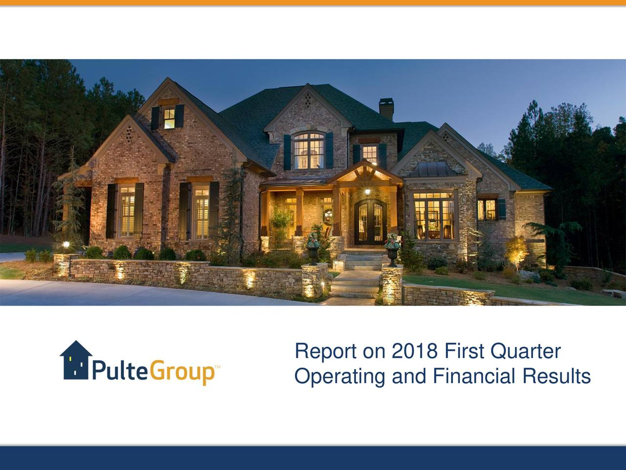 Report on 2018 First Quarter