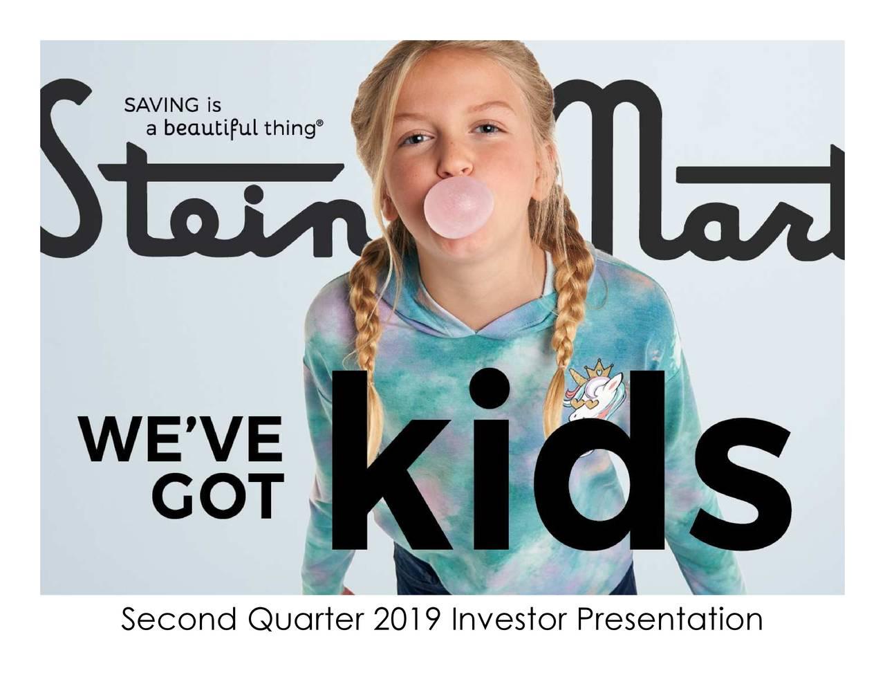 Second Quarter 2019 Investor Presentation