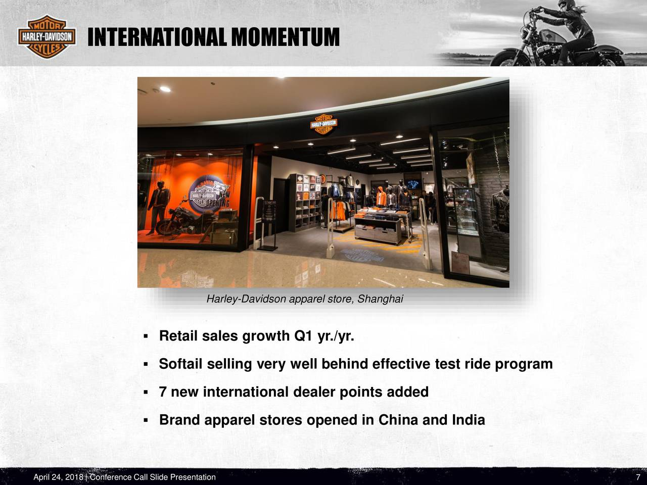 global economy and strategic plan of harley davidson inc Strategic business plan for harley davidson firm name institution business plan for harley davidson firm part 1: global economies and the factors affecting harley davidson the global economy in the firm has not just superior harley's ranking from the remarkably reasonably competitive and rewarding industry intended for large cycles, where it was pummeled for a long time simply by ocean.