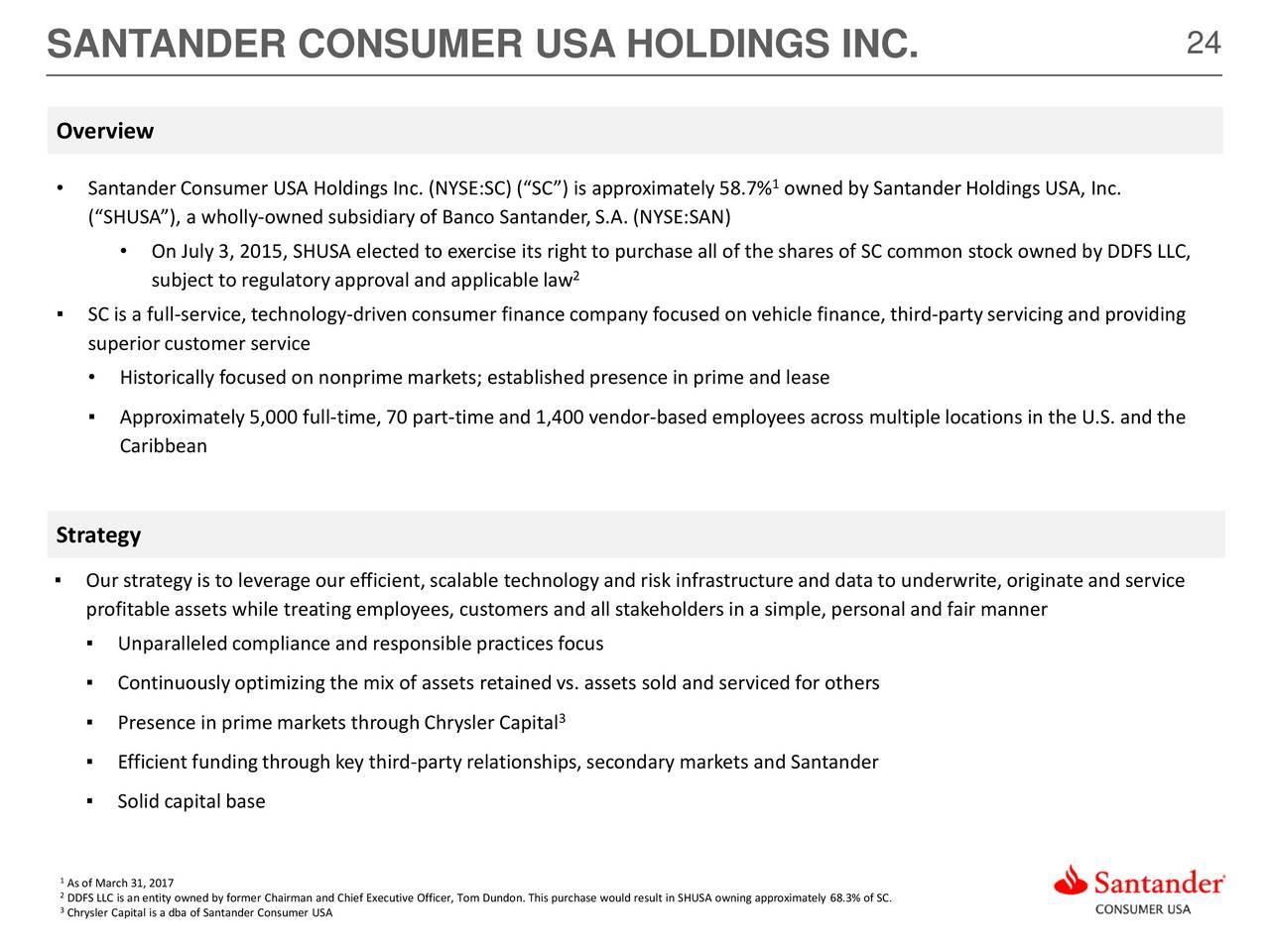 Overview santander consumer usa autos post - Santander consumer finance home ...