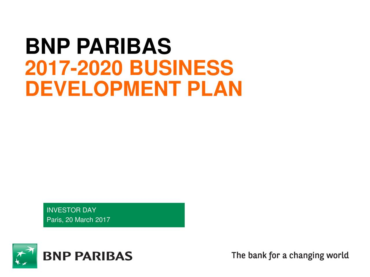 bnp paribas (bnpqy) investor presentation - slideshow - bnp, Powerpoint templates