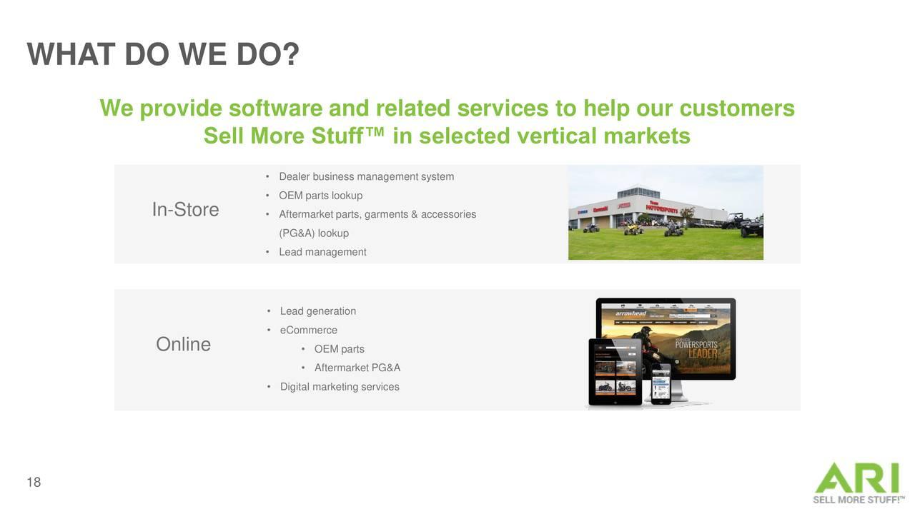 ari network services  aris  investor presentation - slideshow