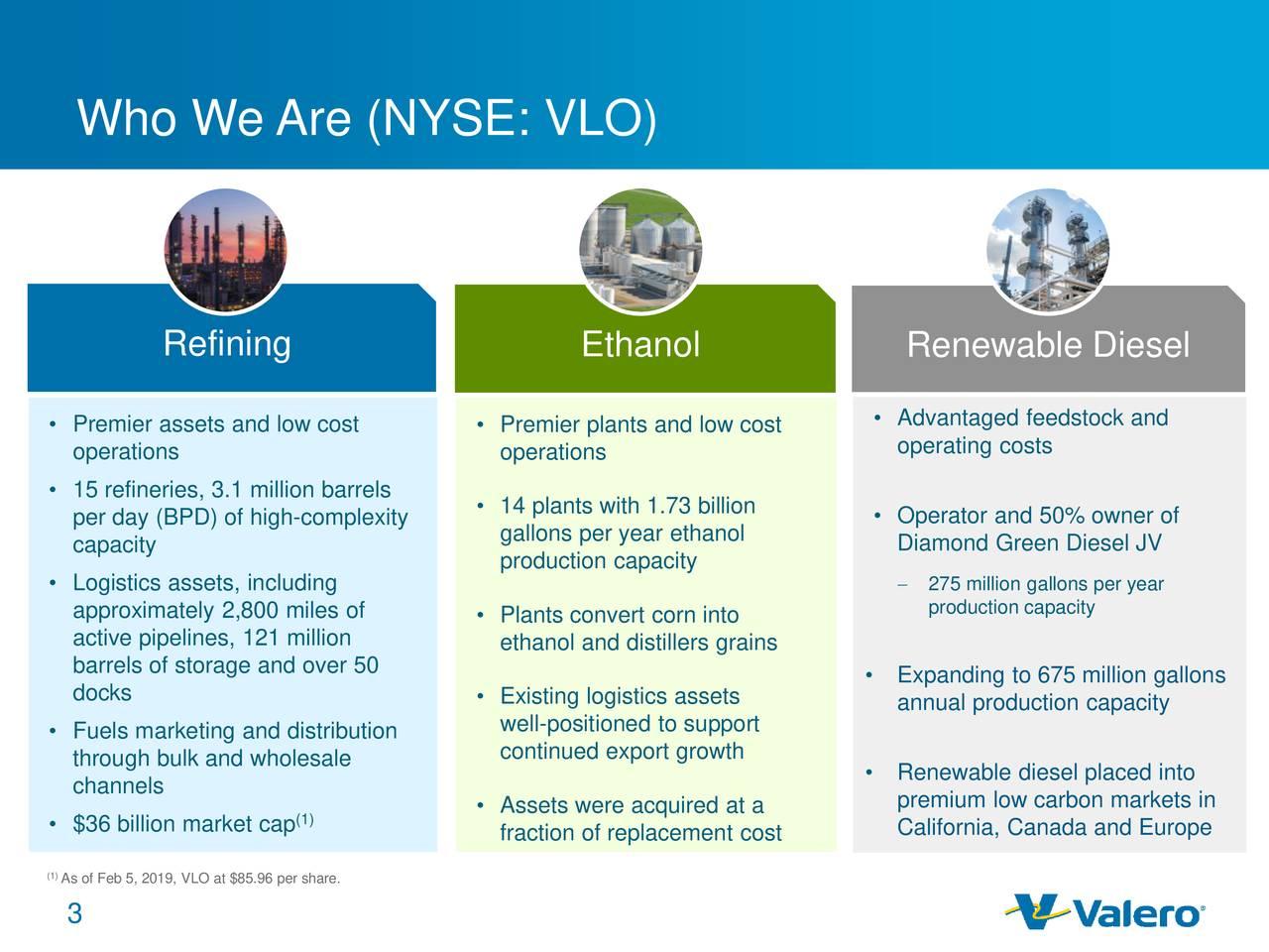 Valero Energy (VLO) Investor Presentation - Slideshow