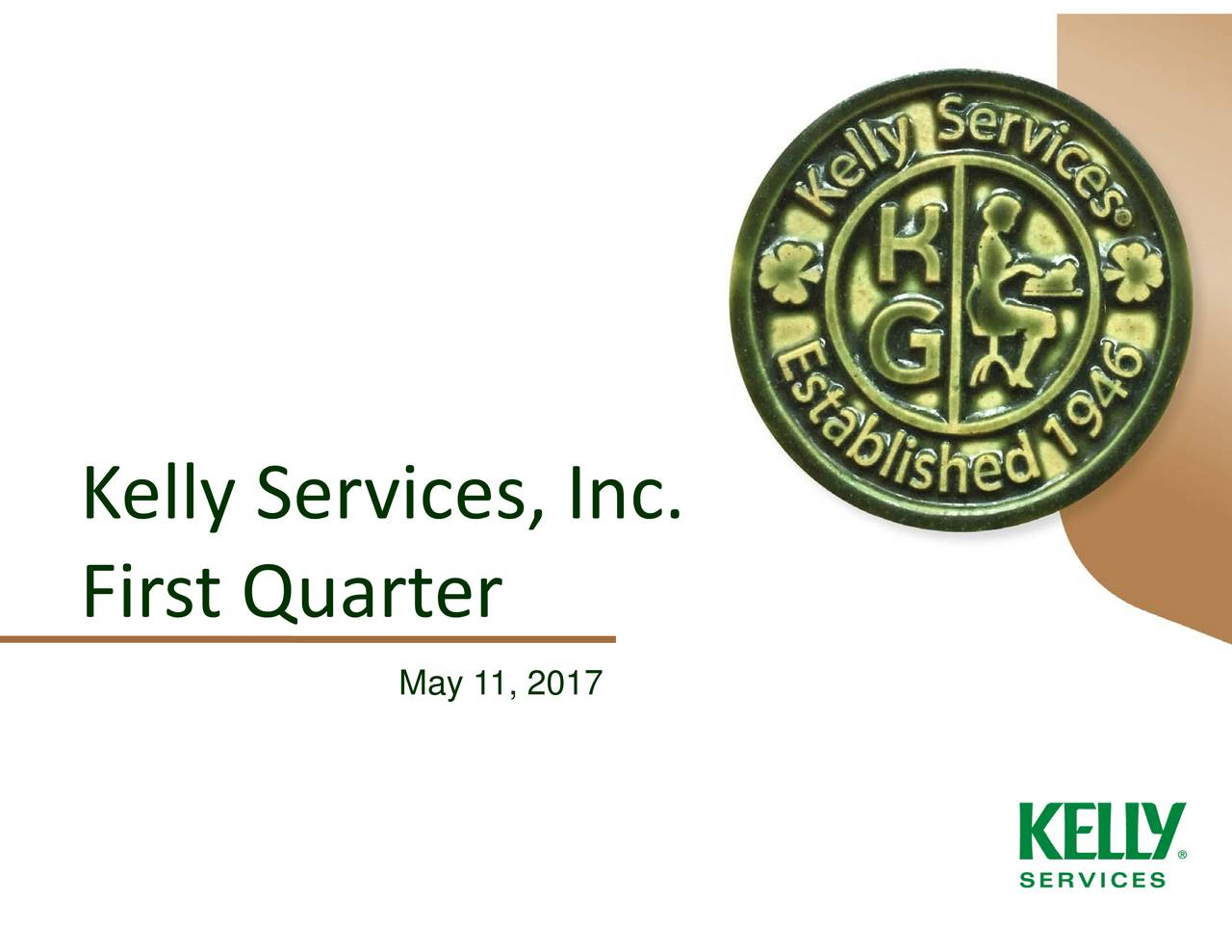 kelly services inc 2017 q1 results earnings call slides kelly services inc nasdaq. Black Bedroom Furniture Sets. Home Design Ideas