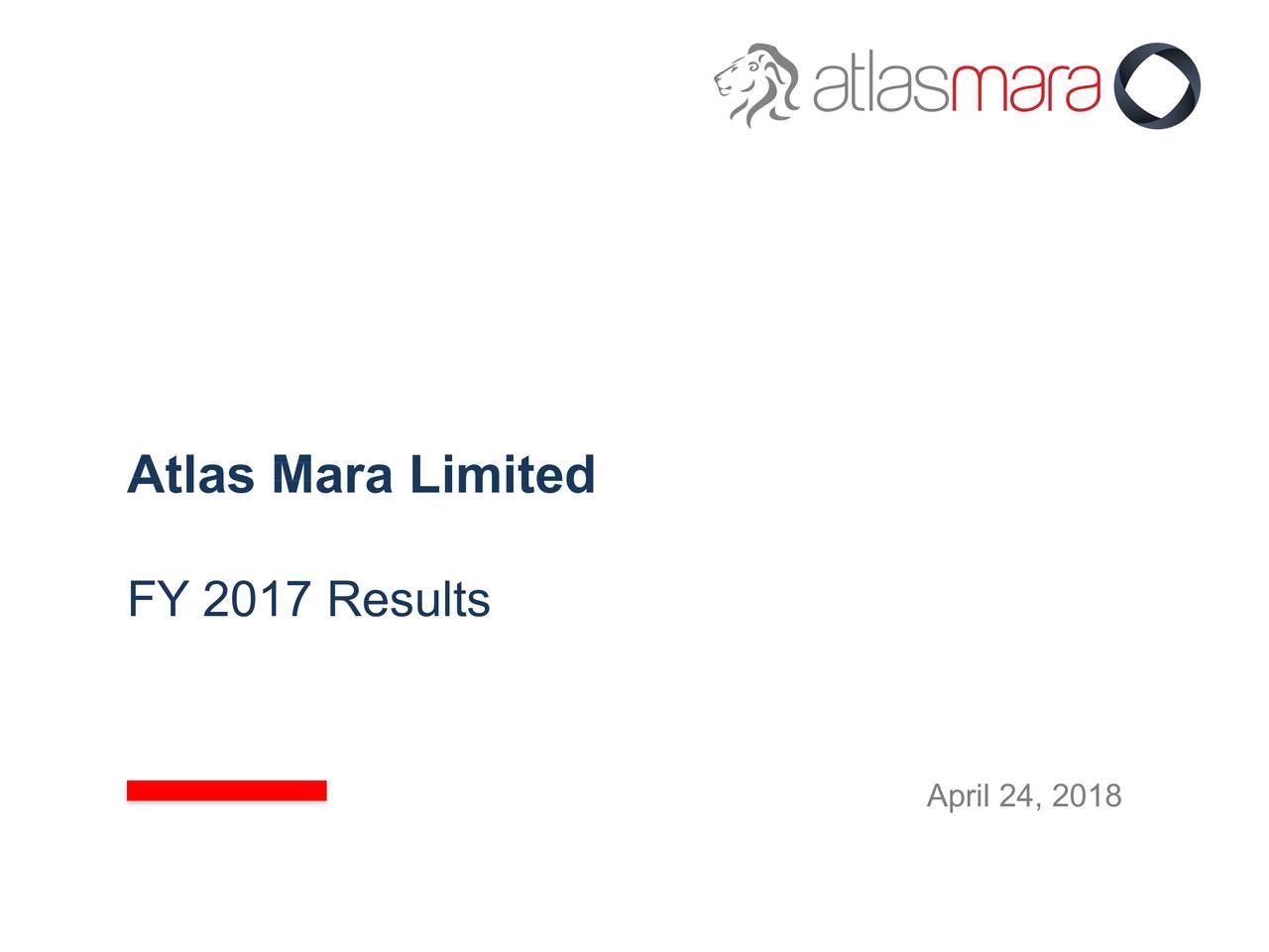 FY 2017 Results April 24, 2018