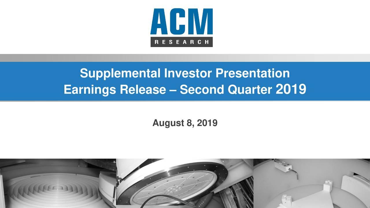 Supplemental Investor Presentation
