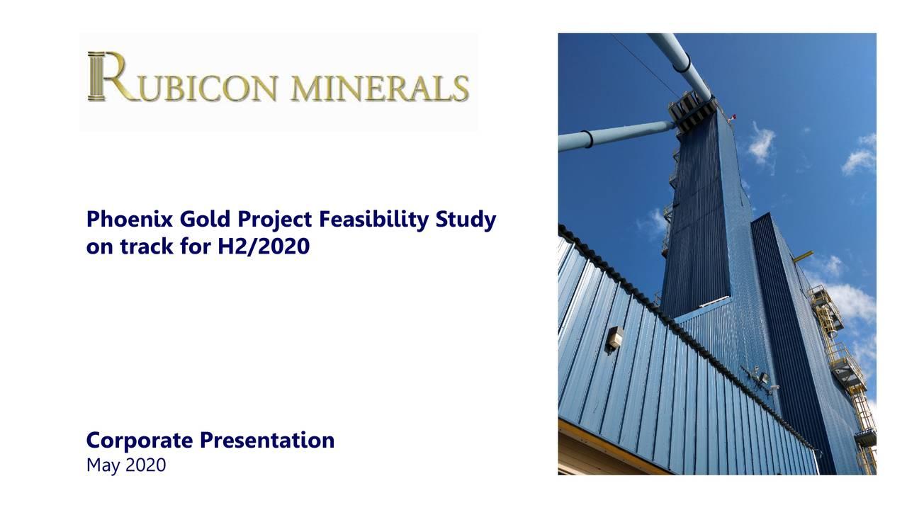 Rubicon Minerals (RBYCF) Investor Presentation - Slideshow